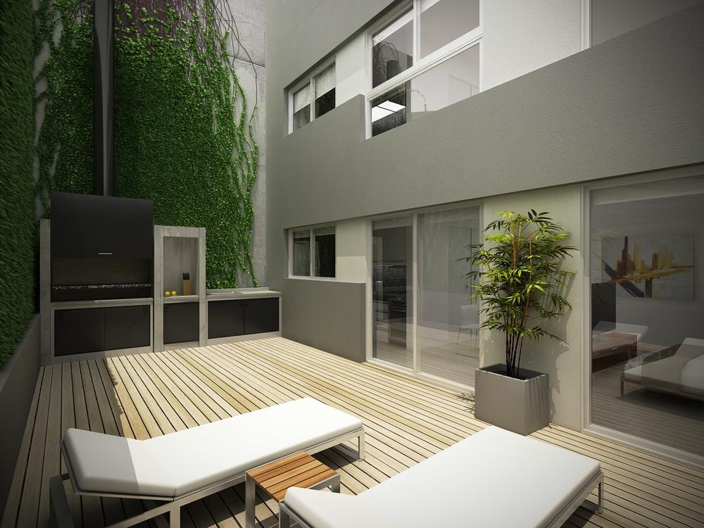 Edificio de vivienda multifamiliar manuela  pedraza 1770 terraza en ejecuci  n